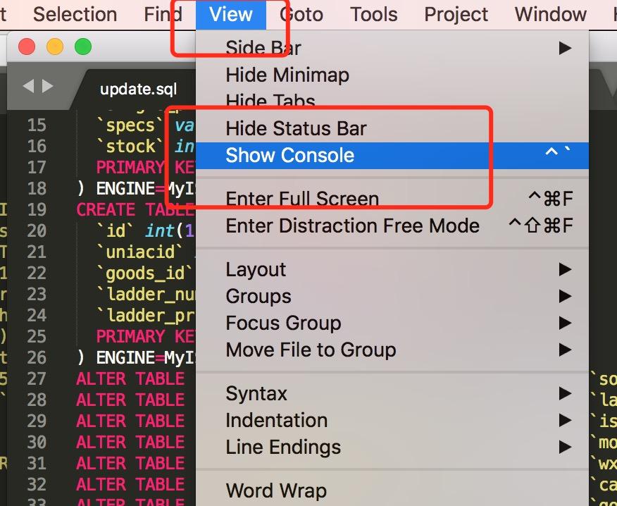 Sublime Text批量删除空白行和注释代码