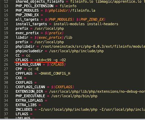 php8.0安装fileinfo扩展